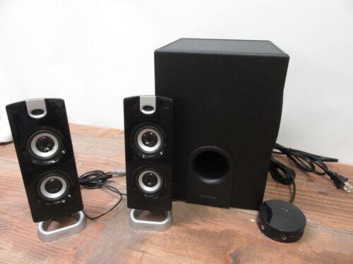 2x Insignia NS-PSB4721 2.1 Bluetooth Speaker System Black