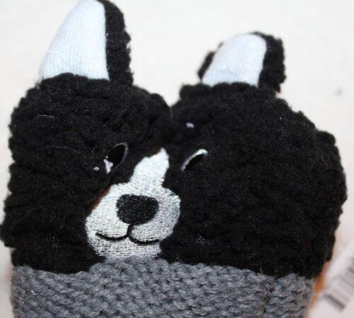 Dog Puppy Women/'s Critter Slippers Slipper Socks Boston Terrier Size 4-10//9-11