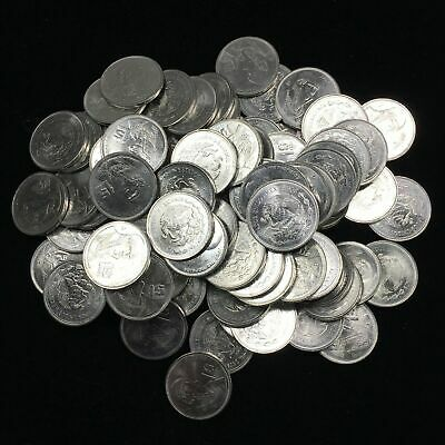 MEXICO lot UN PESO vintage  large 20 COINS collection  wholesale D !!!!!@@