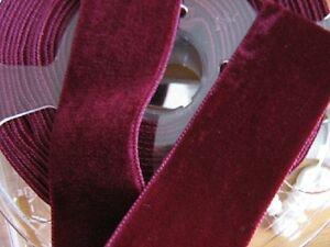 Samtband-doppelseitig-36-mm-nach-Farben