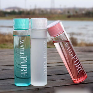 cute water bottles portable water cup glass water bottle cup travel mug 12196