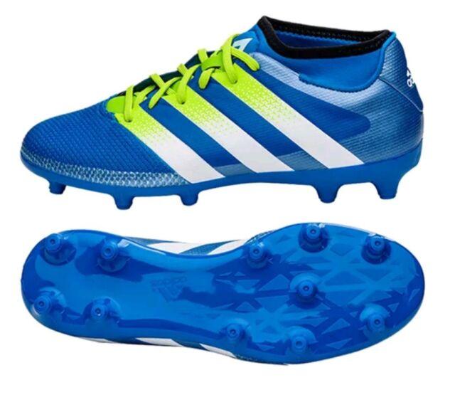 adidas Ace 16.3 Primemesh Fg ag Men s Football BOOTS Blue 41 Y 1 3 ... 3a6c6cb737a