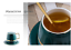 Creative-Drawing-gold-Porcelain-Tea-Cup-and-Saucer-Coffee-Cup-Set-With-Spoon-Lid thumbnail 5