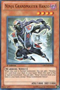 Ninja-Grossmeister-Hanzo-ORCS-EN029-Order-of-Chaos-ORCS-Ultra-Rare-EN-NM
