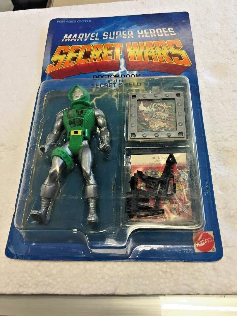 1984 Marvel Super Heroes SECRET guerras Doctor Doom  e his Secret Shield cifra  vendita outlet
