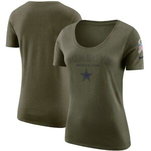Women s Dallas Cowboys Nike Olive Salute to Service Legend Scoop ... d4a79b2ab