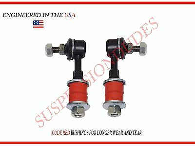 Suspension Dudes 4PC Made in USA Front SWAY BAR Links+BUSHINGS 2WD for Ford F150 05-08 K80337