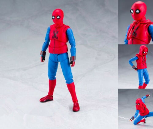 Marvel S.H.Figuarts Spider-Man Homecoming Home Made Suit Figure Toy Gift No Box