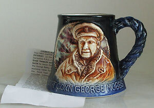 GREAT-YARMOUTH-POTTERY-GEORGE-MOBBS-299-OF-500-WITH-CERTIFICATE