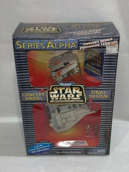 * Comme Neuf In Box * Star Wars Micro Machines Série Alpha Concept Vehicle-rebel Snowspeeder