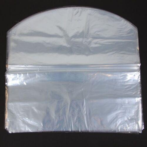 "250 pcs 12-1//2X14/"" PVC Gift Baskets Shrink Film Dome Bags Heat Shrinking Bag"