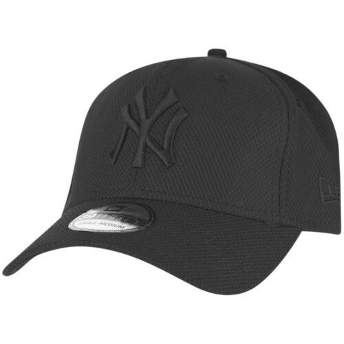 New Era 39Thirty Diamond Cap NY Yankees schwarz