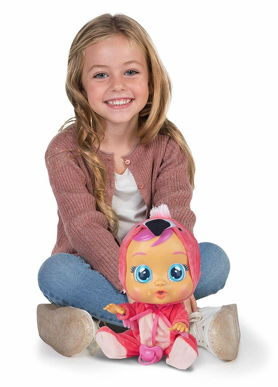 Muñeca Bebes Llorones Llora Con Agua Real Para Niña Cry Babes Doll For Girls