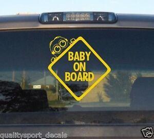 Baby On Board Vinyl Decalsticker Funny Truck Car Window Laptop - Minion custom vinyl decals for car