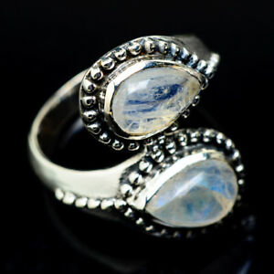 Rainbow-Moonstone-925-Sterling-Silver-Ring-Size-8-25-Ana-Co-Jewelry-R15916F