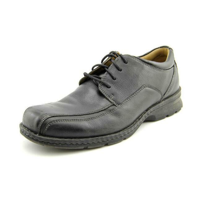 Men's Black Leather Dress Shoes DOCKERS