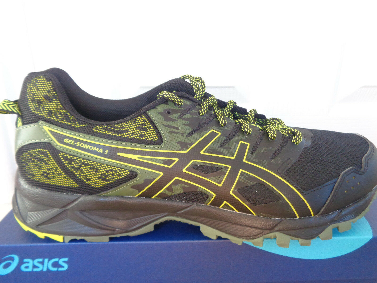 Asics Gel-Sonoma 3 mens trainers T724N 9089 eu 40.5 us 7.5 NEW+BOX