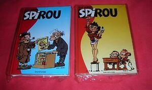 ALBUM-SPIROU-253-ET-254-DUPUIS-STRICTEMENT-NEUF
