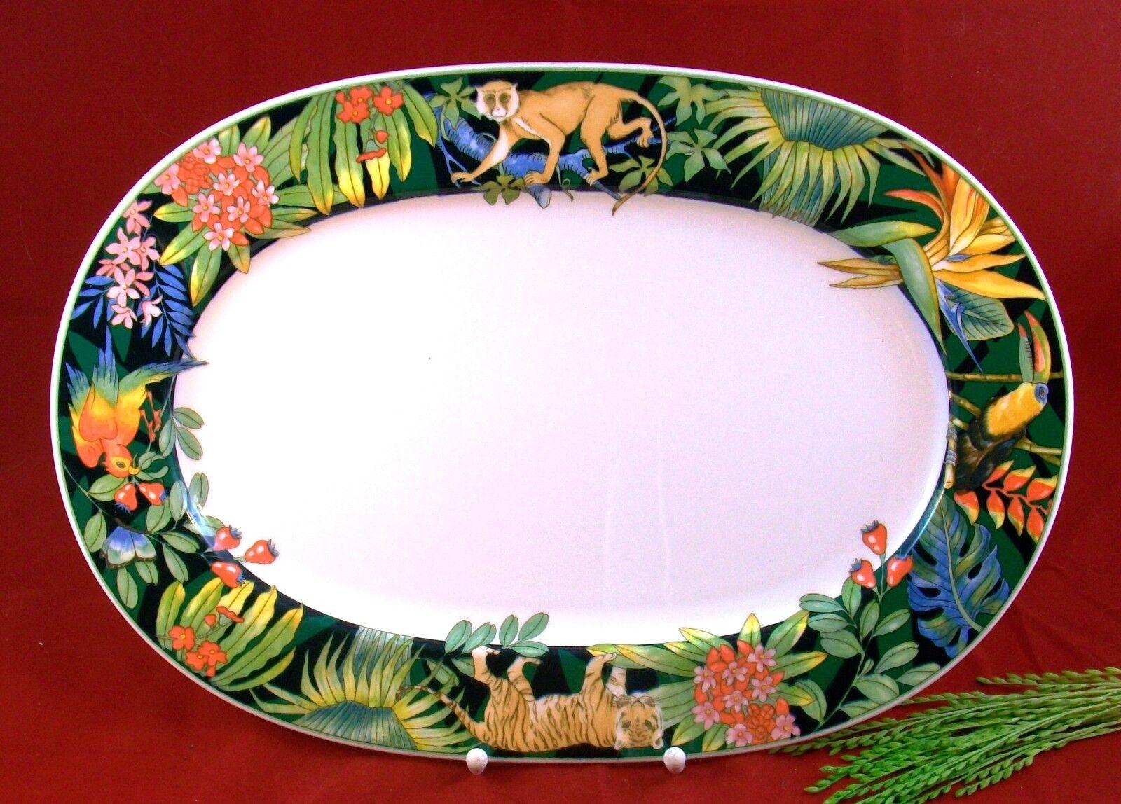 Serengeti - 1 plaque ovale 42 cm