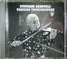 "STEPHANE GRAPPELLI ""PARISIAN THOROUGHFARE"" BLACK LION CD WEST GERMANY 1989"