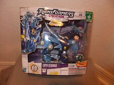 Transformers cybertron Voyager class Cryo Scourge Primus Unleashed 2006 MISB