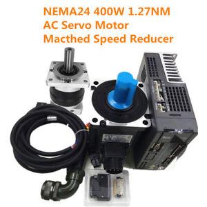 Image is loading AC-Servo-Motor-Drive-Controller-NEMA24-400W-1-
