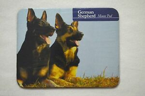 Dog Lover Mouse Pad 9x7 GERMAN SHEPHERD Puppie Durable Neoprene Base Nice Gift