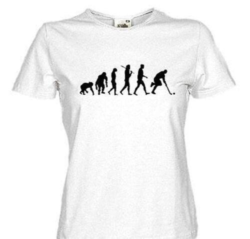 Feldhockey unihockey uni hockey EVOLUTION Girlie-Shirt S M L Stand.Ed