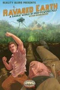 Savage-Welten-Ravaged-Erde-Buch-Brandneu