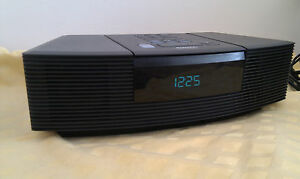 Bose-Wave-Radio-CD-in-Anthrazit-und-Top-Zustand