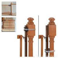 Gate Mounting Kit Banister Universal Baby Kids Safety Protection Stairs Home