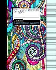 Blank Sheet Music : Music Manuscript Paper / Staff Paper / Musicians Notebook...