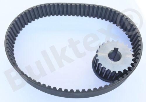 Bulktex® 1X Zahnriemen Set Riemen Riemenrad passend für Zippo 1250 1506 1511 C