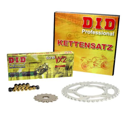 08-16; NIETSCHLOSS extra verstärkt DID Kettensatz GOLD KTM 690 SMC //R