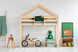 Kinder Etagenbett Haus : Kinder etagenbett haus ohne matratze 12 dimensionen neues naturholz