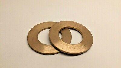 """Oilite Thrust Bearing 5//8/""""id x 1 3//16/""""x 1//16/""""Brass Bushing Bearing Bronze-New 1"""