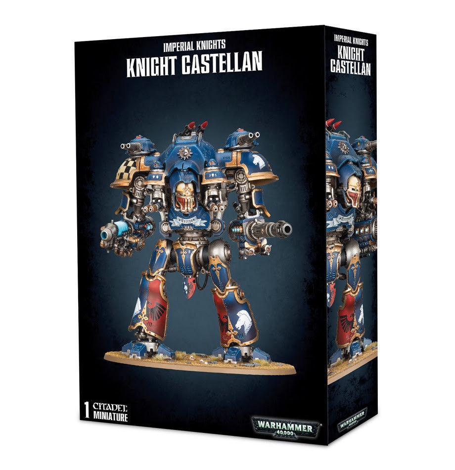 Warhammer 40k Imperial Knights Knight Castellan Castellan Castellan New in Box 674ae6