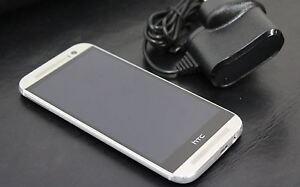 Defectueux-HTC-One-M8-16-Go-Glacial-Argent-Mobile-5-034-Smartphone-4MP-Debloque