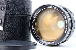 Canon-50mm-f0-95-pour-Canon-7-IN-Good-Condition-With-Objectif-Etui