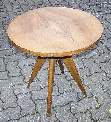 Kultiger Kleiner Runder Design Tisch, Beistelltisch Professionelles Design
