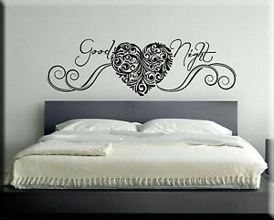 adesivi murali wall stickers sticker adesivo murale frasi camera ... - Stickers Murali Camera Da Letto