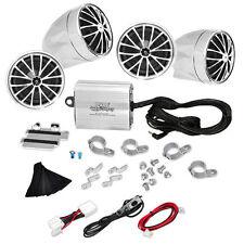 Pyle PLMCA70 800w Motorcycle Sound System w/4 Speakers & iPod/Mp3 Input