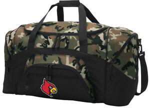 COOL Louisville Cardinals Du REALTREE CAMO University of Louisville Duffel Bag