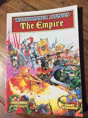 Games Workshop Warhammer Eserciti L'impero Supplemento-mostra Il Titolo Originale