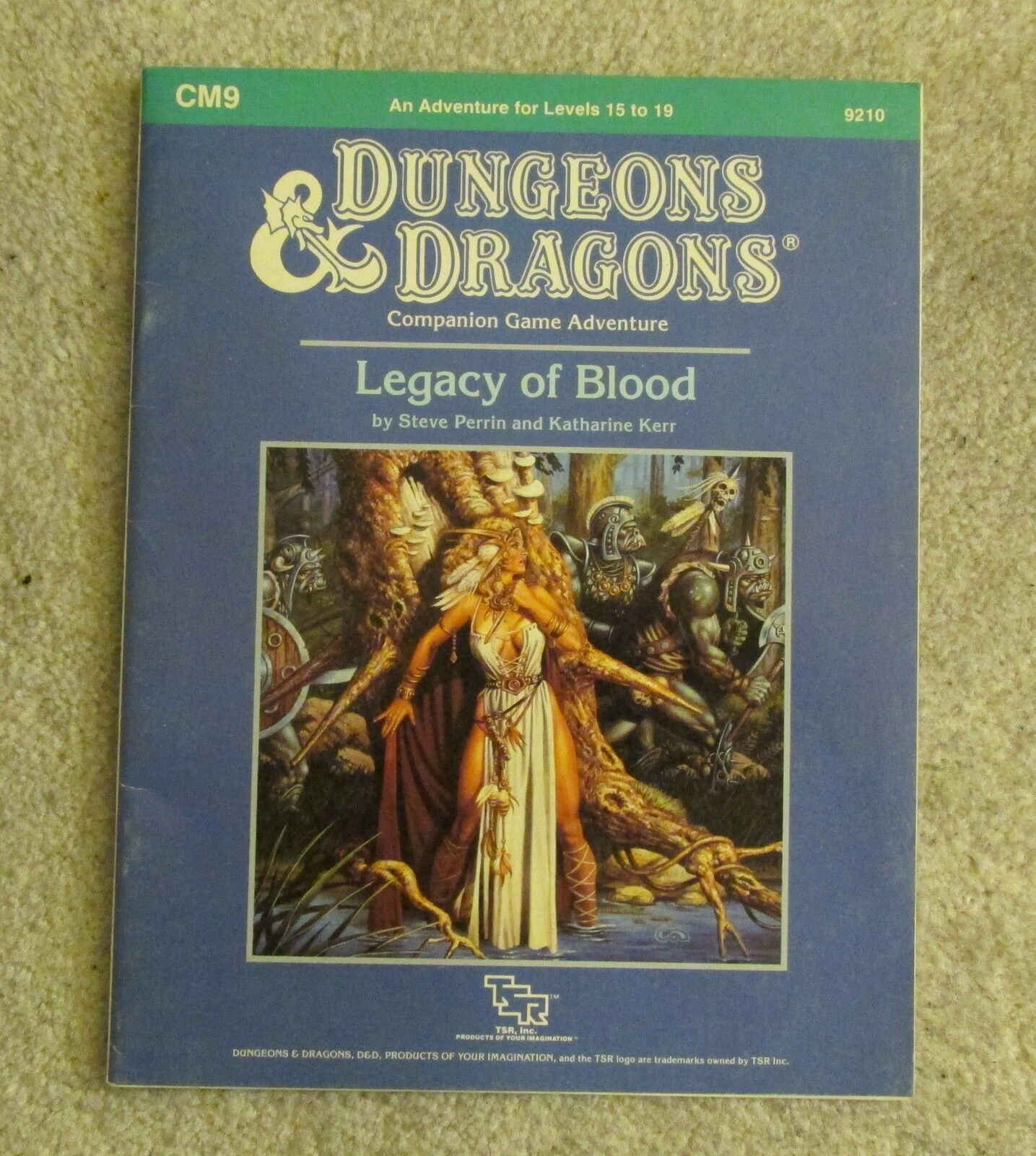 Dungeons & dragons  Legacy of Blood       cm9    module 7168c8