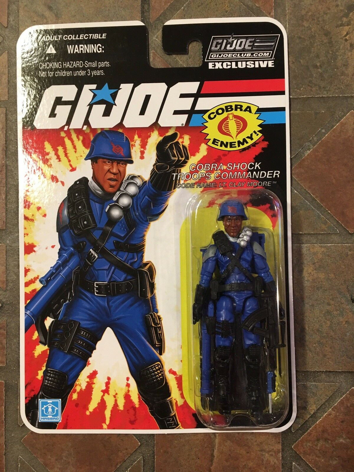 GI JOE LT CLAYMOORE  FSS  8.0 Con Collectors Club Exclusive cifra 2018  basta comprarlo