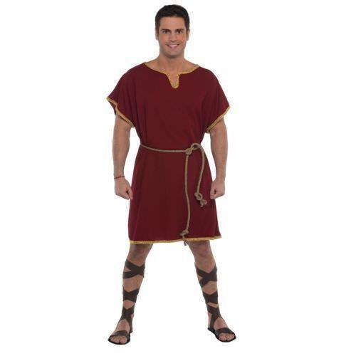 MEDIEVAL Viking,Greek Tunic Surcoat Short Sleeves Renaissance SCA LARP