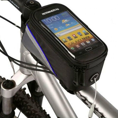 Borsa touch screen bici bicicletta per smartphone fino a 4.7 impermeabile SP4