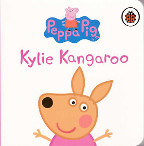 Peppa-Pig-Story-Peppa-039-s-Family-and-Friends-KYLIE-KANGAROO-Board-Book-NEW