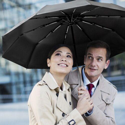 Automatic Umbrella Extra Strong 60Mph Reinforce Umbrella Teflon coating
